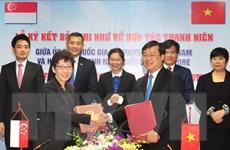 Tăng cường hợp tác thanh niên hai nước Việt Nam-Singapore