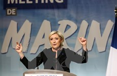 Ứng cử viên Le Pen cáo buộc các đối thủ phớt lờ vấn đề khủng bố