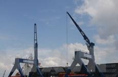 Tân Cảng Cái Cui lần đầu tiên đón tàu quốc tế trọng tải hơn 6.200 tấn