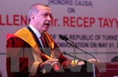"""Tổng thống Thổ Nhĩ Kỳ cảnh báo sẽ nói """"lời tạm biệt"""" EU"""