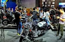Tưng bừng khai mạc triển lãm môtô xe máy Việt Nam 2017