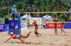 Trung Quốc vô địch Bóng chuyền bãi biển nữ châu Á Tuần Châu-Quảng Ninh