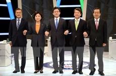 Bầu cử tổng thống tại Hàn Quốc trước vòng đua cam go
