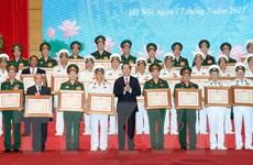 Trao Giải thưởng Hồ Chí Minh cho hai cụm công trình quân sự xuất sắc