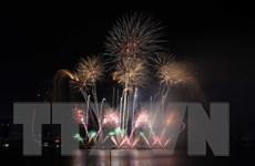 Lễ hội pháo hoa Đà Nẵng chứng kiến sự bùng nổ của Nhật Bản và Thụy Sĩ