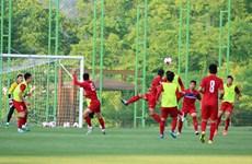Tuyển U20 Việt Nam quyết không phụ lòng người hâm mộ