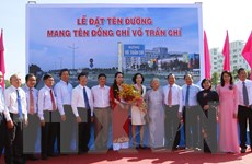 Tuyến đường dẫn cao tốc TP.HCM-Trung Lương mang tên Võ Trần Chí