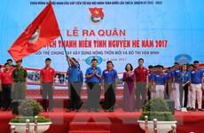 Ra quân Chiến dịch Thanh niên tình nguyện Hè năm 2017