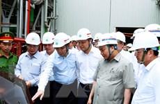 """""""Đóng tem"""" lò hơi số 2 Nhà máy Nhiệt điện Thái Bình trong tháng 7"""