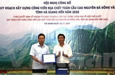 Công bố quy hoạch Công viên Địa chất Cao nguyên đá Đồng Văn đến 2030