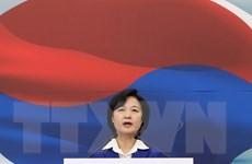 """Đảng cầm quyền Hàn Quốc yêu cầu đàm phán lại vấn đề """"phụ nữ mua vui"""""""