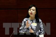 Phiên chất vấn Bộ trưởng Y tế diễn ra sôi nổi, trách nhiệm và xây dựng