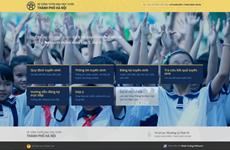 Hà Nội triển khai đăng ký tuyển sinh trực tuyến mầm non, lớp 1, lớp 6