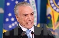 Tổng thống Brazil Temer bị tố đứng đầu đường dây tham nhũng