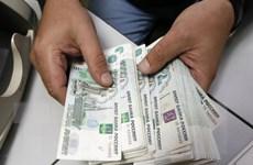 Đồng ruble giảm xuống mức thấp nhất trong bốn tháng qua