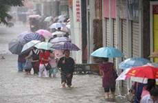 Trung Quốc tiếp tục duy trì cảnh báo vàng với tình hình mưa bão