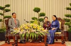 Thúc đẩy hợp tác công tác mặt trận giữa TP.HCM và Campuchia