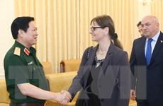 Đại tướng Ngô Xuân Lịch tiếp Đại sứ Israel tại Việt Nam