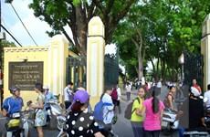 Hà Nội công bố điểm chuẩn vào lớp 10 trung học phổ thông công lập