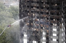181 tòa nhà cao tầng ở Anh không đạt tiêu chuẩn phòng chống cháy nổ
