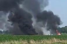 Rơi máy bay quân sự tại Mỹ khiến ít nhất 5 người thiệt mạng