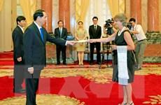 Chủ tịch nước tiếp các Đại sứ Tây Ban Nha và Yemen trình Quốc thư