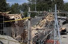 Sập cầu đang xây tại Thụy Điển khiến hàng chục người bị thương