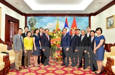 Chúc mừng năm Đoàn kết hữu nghị giữa hai nước Việt Nam-Lào
