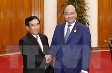 Thủ tướng Nguyễn Xuân Phúc tiếp Phó Chủ tịch nước Lào