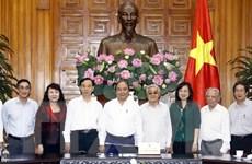 Thủ tướng Nguyễn Xuân Phúc làm việc với Hội Cựu giáo chức Việt Nam