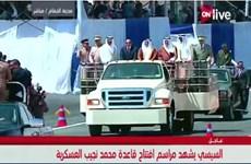 Ai Cập khai trương căn cứ quân sự lớn nhất tại Trung Đông