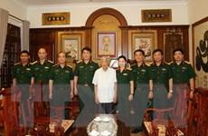 Thăm và tặng quà nguyên Tổng Bí thư-Thượng tướng Lê Khả Phiêu