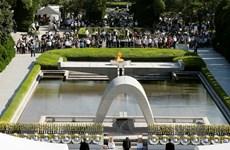 Nhật Bản tưởng niệm 72 năm thảm họa bom nguyên tử tại Hiroshima