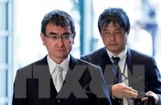 Tân Ngoại trưởng Nhật Bản hội đàm với người đồng cấp Mỹ
