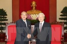 Campuchia sẽ cùng với Việt Nam vun đắp mối quan hệ lên tầm cao mới