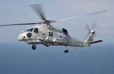 Trực thăng hải quân Nhật Bản gặp nạn khi làm nhiệm vụ huấn luyện