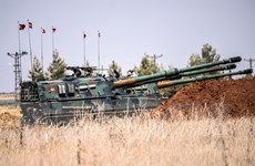 Thổ Nhĩ Kỳ tiếp tục tăng cường hiện diện quân sự gần biên giới Syria