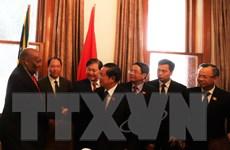 Đoàn cấp cao Quốc hội Việt Nam kết thúc tốt đẹp chuyến thăm Nam Phi