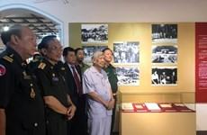 Nghĩa tình Việt Nam-Lào-Campuchia qua những bức ảnh và hiện vật