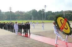 Lãnh đạo Đảng, Nhà nước viếng Lăng Bác nhân kỷ niệm Quốc khánh