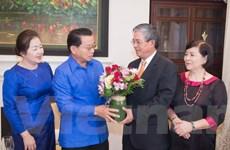 Đại sứ Lào tại Hoa Kỳ chúc mừng quốc khánh Việt Nam