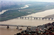 Hà Nội sẽ xây dựng 14 cầu qua sông Hồng và sông Đuống