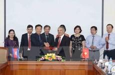 Tăng cường hợp tác giữa TTXVN và Hãng Thông tấn Campuchia