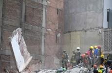 Động đất tại Mexico: Hơn 50 người vẫn mắc kẹt trong các tòa nhà bị sập