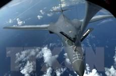 Máy bay ném bom của Mỹ tuần tra gần bờ biển Triều Tiên