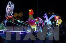 60 mô hình đèn Trung Thu tưng bừng khai mạc Lễ hội Thành Tuyên