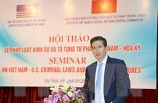 Hoa Kỳ cam kết hỗ trợ tối đa cho Việt Nam cải cách hệ thống tư pháp