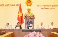Khai mạc Phiên họp thứ 15 Ủy ban Thường vụ Quốc hội khóa XIV