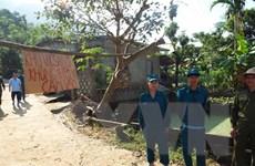 Tỉnh Hòa Bình công bố tình trạng khẩn cấp về thiên tai sạt lở đất