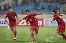 Đội tuyển Việt Nam thăng hoa trên bảng xếp hạng FIFA tháng 10